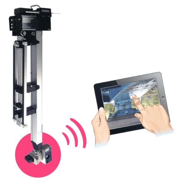 橋梁点検ロボットカメラ 使用イメージ