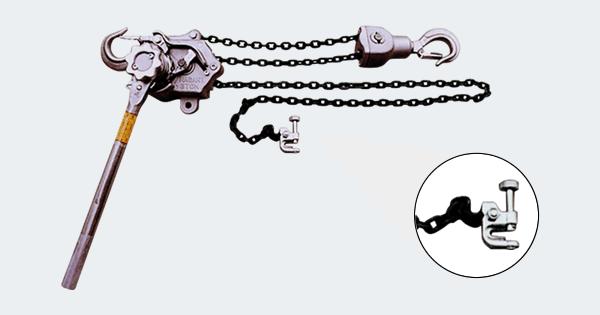 張線器(チェーン式)-3t張線器5m/チェーン式/トルク機能付