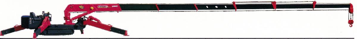 ミニクローラークレーン カニクレーン  (2.9t/7段)